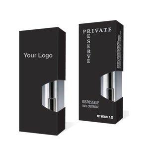 High Quality OEM Foldable Package Boxes for Thick Oil Vape Cartridge Liberty V1 V5 V9 DHL Free