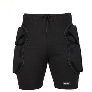 Montar al aire libre Esquí 2.2cm Espesar EVA acolchada anticaída pantalones cortos de ciclista Deportes de secado rápido transpirable Protección caderas pantalón corto