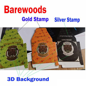 710 Barewoods boxes Quality Untouched Bare Extracts Paper Packaging Premium Trim Nug Run Live Resin for wax Concentrate Distillate