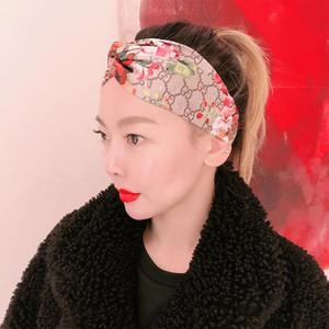 Sıcak Lüks% 100 İpek Çapraz Kafa Kadınlar Kız Elastik Saç bantları Eşarp RetroTurban Headwraps hediyeler Çiçekler Hummingbird Orkide tasarımcıları