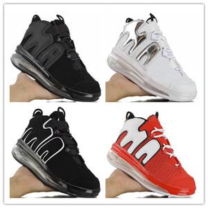 كرة السلة عن Uptempo 720S كرة السلة للرجال أحذية جامعة كروم أحمر أسود أبيض مدرب الرياضة حذاء رياضة حجم 7-10