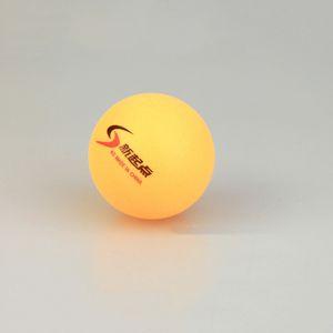 Nouveau 50Pcs / lot de tennis blanc de ping-pong Balles de tennis de table orange balles en plastique ABS Drop Shipping
