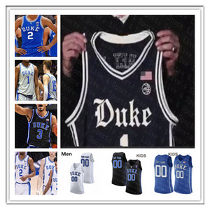 2020 Duke Basketball Maglia Blue Devils Tre Jones Cassius Stanley Matthew Hurt Vernon Carey Jr. Moore Jr. Javin DeLaurier Goldwire Gioventù