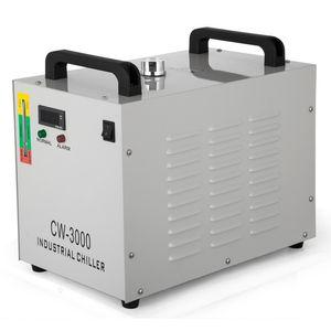 CW-3000 산업 WATER CHILLER 이산화탄소 유리 레이저 COLD 산업 물 냉각 장치 CW-3000 CNC / 레이저 조각사 조각 기계를위한