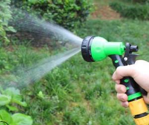 Portable Garden Car Water Spray Gun Adjustable Garden Wash Hose Spray High Pressure Gun Sprinkler Nozzle Water Gun sui0211