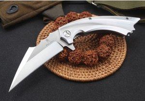 l'homme de fer de sanglier 9cr18mov roulements à billes Camping couteau de survie couteau pliant cadeau Outils Outdoor OEM de gif