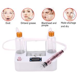 Nueva Burbuja pequeña limpiador de piel al vacío Blackhead Remover Machine Mini Aqua Hydra Peel Hydro Dermabrasion Dispositivo de Spa de Limpieza Facial