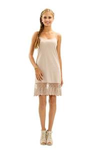 LA Gen Женское шифоновое кружевное кружевное удлинительное платье-удлинитель