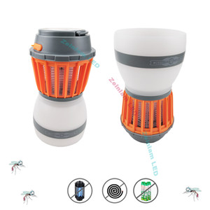 قاتل البعوض أضواء طارد البعوض USB تحميلها مصابيح LED المنزل علة صاعق البعوض القاتل للحشرات مصباح فخ أضواء مخيم