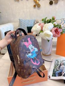 Newest women designer backpack 26 20cm letter print high quality luxury designer backpacks men unisex printed backpacks