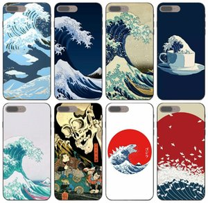 [TongTrade] Cartoon Wave Art Japanese Case For iPhone 11 Pro Max X XS 6s 5s 5c 5 4s 4 Samsung On5 On7 Honor V9 Play Xiaomi 8 Brand New Case