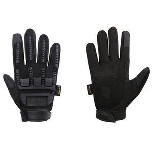 Outdoor Cycling Shooting Anti Cut Defend Full Finger Gloves Tactical Camo Scratchproof Armor Protect Shell Long Finger Mittens