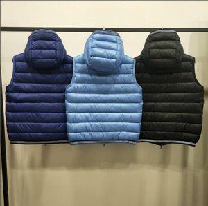 Mens Winter Coat Hooded Parka Men Winter Jacket Down Vest Thick Jackets Mens Warm Jackets Men's Clothing
