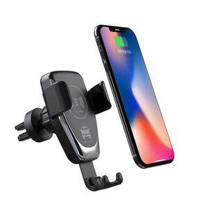 Wireless Charger Qi Fast Charger Car Charger Q12 per Smart Phone Samsung Gravity Huawei Phone Holder carica Compatibile supporto dell'automobile