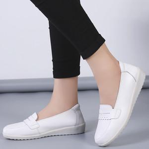 2019 Yeni Stil Hemşire KADIN dolgu ayakkabı Beautician Hastanesi Çalışma KADIN Ayakkabı Lastik Sole Annelik Ayakkabı