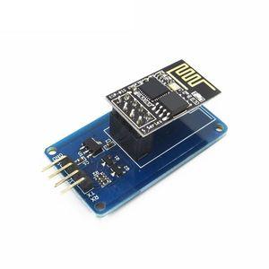 ESP-01S ESP8266 Serial Wi-Fi Wireless Module + ESP-01 Adapter for Arduino