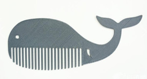 Whale Comb Custom order high quality high precision digital models 3D printing service for innovation ST173