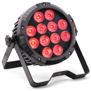 exterior DMX iluminação controle remoto 12x18W RGBWA + UV 6in1 mini-iluminação LED par dj para dj equipamentos