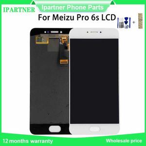 5.2 pollici per Meizu Pro 6S Schermo LCD di ricambio touch Digitizer Assembly per Meizu pro 6s Touch Screen con autoadesivo di 3M