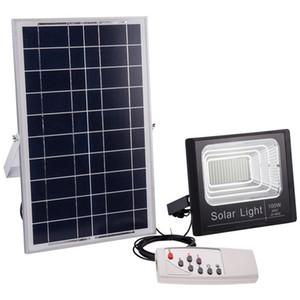 Solar IP67 Flutlicht 120W 100W 50W 30W 20W 10W 80-90LM / W Power Cell-Panel Batterie im Freien wasserdichten Industrie Lampen Leuchten Fernbedienung