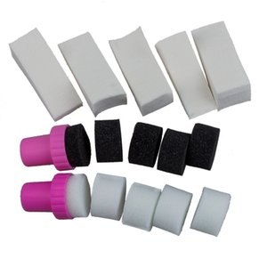 1 Set Nail Art Sponge Stamp Stamping Polish Template Transfer DIY Manicure Tool