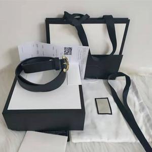 Cintura da uomo TOP Cintura da donna in vera pelle di alta qualità in bianco e nero Designer Cintura in pelle di vacchetta per uomo Cintura di lusso spedizione gratuita