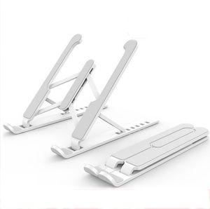 Laptop dobrável ajustável stand antiderrapante desktop Notebook Titular Laptop Stand Para Macbook Pro iPad Air Pro DELL HP