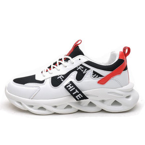 Calzado casual OLOME clásico de los hombres ligeros transpirable resistente Hombre zapatillas de deporte al aire libre zapatos para caminar Zapatos Casuales L05