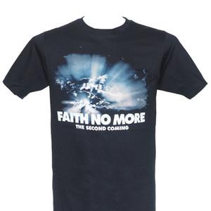 Faith No More Официальная лицензионная футболка второго пришествия Новая футболка с коротким рукавом M L Xl Хлопковые футболки