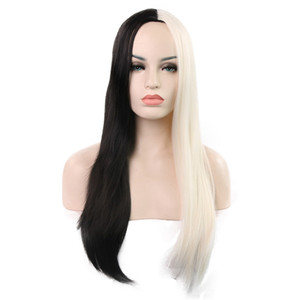 Long Straight Wig 68 Cm Synthetic Hair Wigs