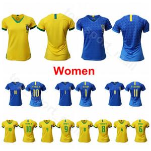 2019 여자 월드컵 브라질 축구 10 마타 저지 11 CRISTIANE 7 ANDRESSA ALVES 8 FORMIGA 9 DEBINHA 17 ANDRESSINHA 축구 셔츠 키트