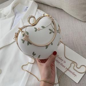 Senior sense small bag female 2019 new Korean version of the summer ocean single shoulder love package fashion chain Messenger bag