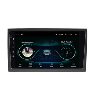 Android car GPS navigation mp3 mp4 music player HD 1080 beautiful wallpaper smooth music multi-touch screen for AUDI A4 9inch