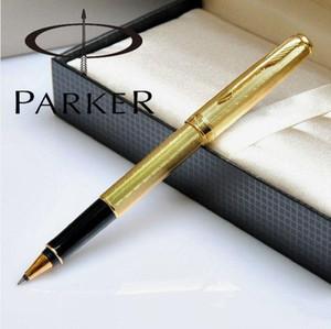 Envío de alta calidad original Parker Sonnet metal titular de la pluma de escritura rápida Bolígrafo pluma de la escritura de negocios