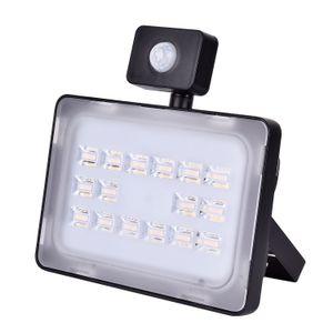 50W Lampe LED SMD Projecteur extérieur Mit Bewegungsmelder blanc chaud IP65 Place Highway Garden d'appareils d'éclairage