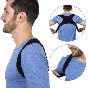 Taille unique haut du dos Posture Correcteur réglable Clavicule Brace épaule correcte Posture support Sangle Clavicule correction