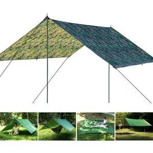 Outdoor Shelter Travel Sun Shade Adventure Portable Tent Rain Camping Folding Fishing Mat Waterproof Canopy