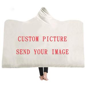 تخصيص دروبشيبينغ مقنع غطاء لينة منفوش الشتاء سميكة مدرسة المنزل للسفر الطائرة رمي بطانية المحمولة لبس