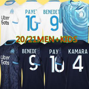 19 20 Olympique de Marseille футболка Jerseys OM футболка 2019 2020 футболка PAYET THAUVIN 120 лет футболка 120-летие