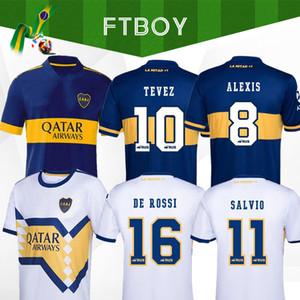 2020 2021 Boca Juniors soccer Jersey Home Away 20 21 Boca Juniors TEVEZ MARADONA MOURA ABILA DE ROSSI JRS sports MEN + Kids football shirts