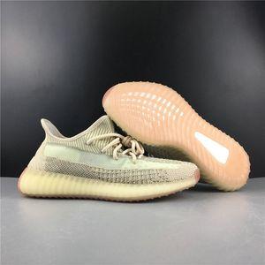 Новый эксклюзивный Citrin Светоотражающие Man Атлетический Дизайнер обуви Легкий FW5318 Kanye West Мода кроссовки корабль с Box Размер US4-12.5