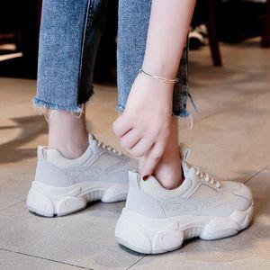 La mode féminine 2019 nouvelles chaussures de marée automne ins d'été respirant sport rouge net sauvage occasionnels blanc vieilles chaussures