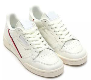 Neueste Continental 80 Core schwarz weiß Leder Sneaker Herren Laufmode Sportschuhe