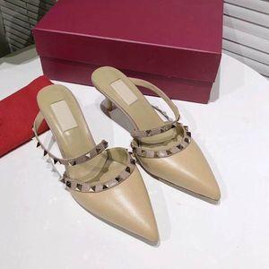 Женщины дизайнер шлепанцы наппа мечта квадратный носок сандалии стрейч сандалии дамы роскошные повседневные дизайнерские тапочки свадьба женщина высокие каблуки