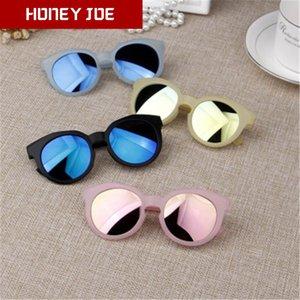 Kids Lunettes de soleil Noir Marque Designer Childrens Anti-uv bébé élégant lunettes fille lunettes garçon UV400