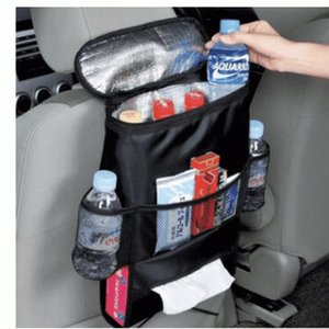 Assento Cuidados Car Auto Organizer Cooler Bag multi bolso de armazenamento Bag Back Seat Chair Car Styling assento 120pcs Car Organizer CCA11144