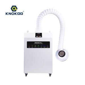 KNOKOO Extractor Pro FES350 Las gotas de soldadura láser dental absorbedor de aspiración con esterilización UV-C de la lámpara