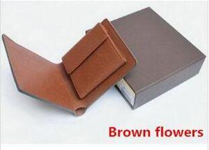 M60895 Lüks Tasarımcı Erkekler Kısa Kompakt Çoklu Cüzdan Mono Gram Canvers Makbuz Marka Adı Bifold cüzdan Ücretsiz Kargo İyi Kalite