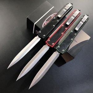 Trasporto libero! Makora II MT doppia azione automatica lama tattica della lama D2 lama alluminio 6061-T6 maniglia edc coltelli tascabili