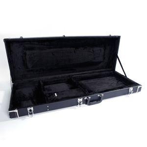 Nouvelle Guitare électrique Piano place de cas de haute qualité Noir grain fin cuir Boîte avec accessoires de rangement